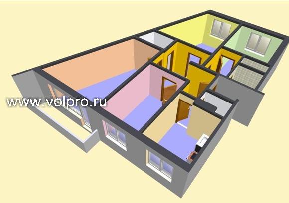 Перепланировка квартиры по СНиП (строительные нормы и